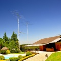 widok na domek radiowy