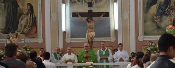 Jubileusz 60 lecia parafii i 50 lecia pracy księży chrystusowców w Bateias